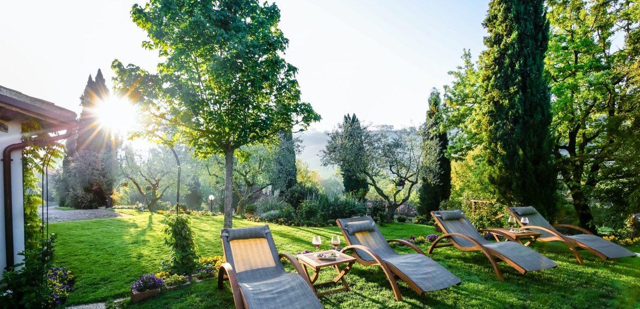 sunchairs, pool, relax