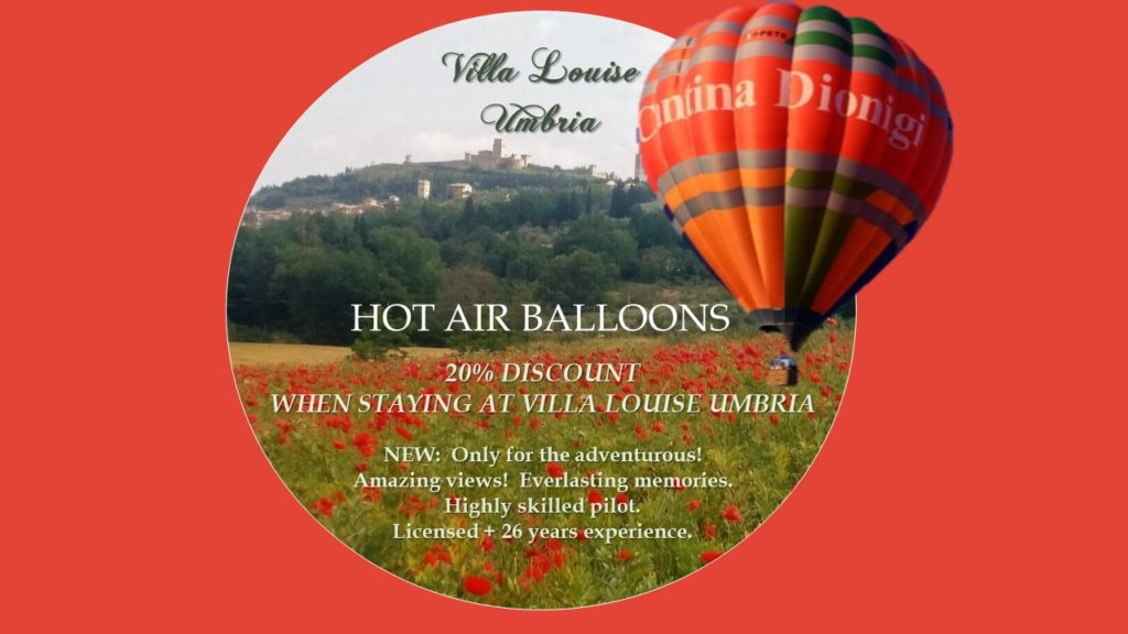 NEW! HOT AIR BALLOONS !